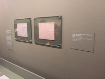 Some letters written by Vincent Van Gogh