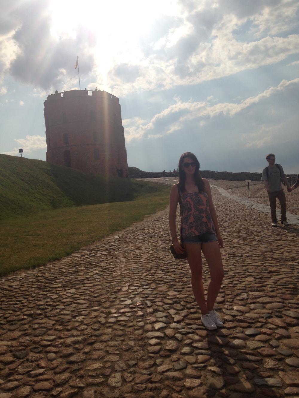 Elle in Vilnius
